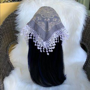 BOHO FACE MASK- NEVER WORN!! Versatile scarf